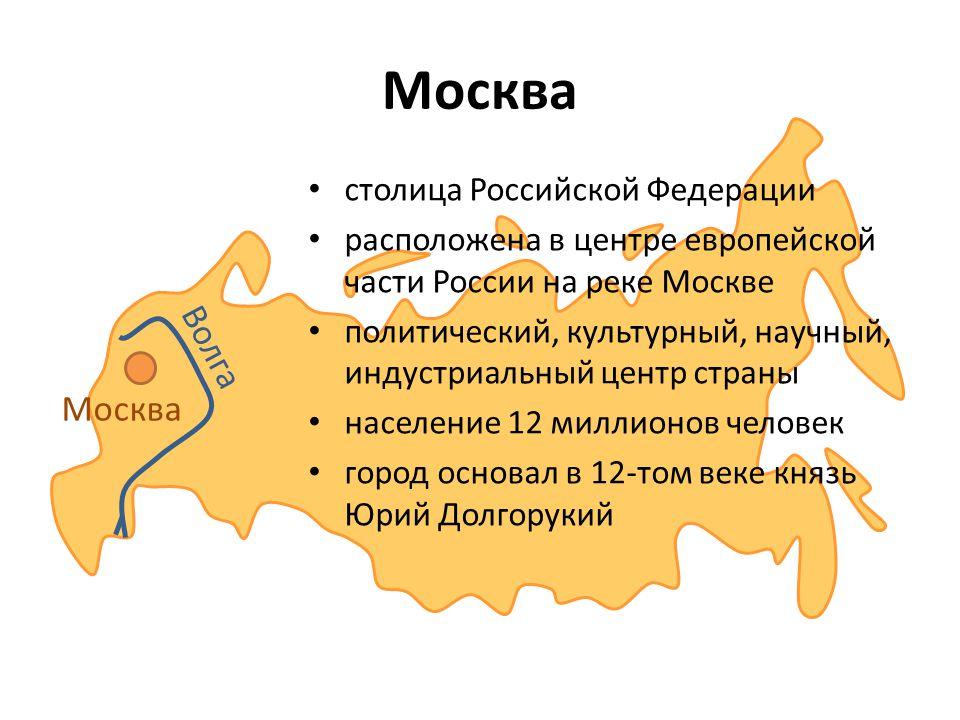 Москва Волга Москва столица Российской Федерации