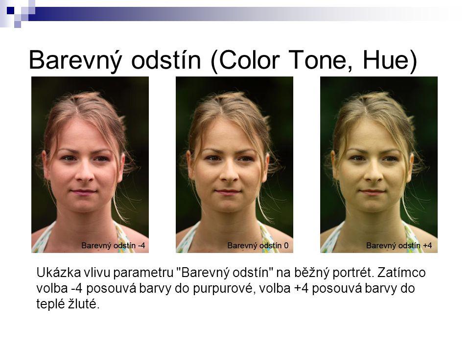 Barevný odstín (Color Tone, Hue)
