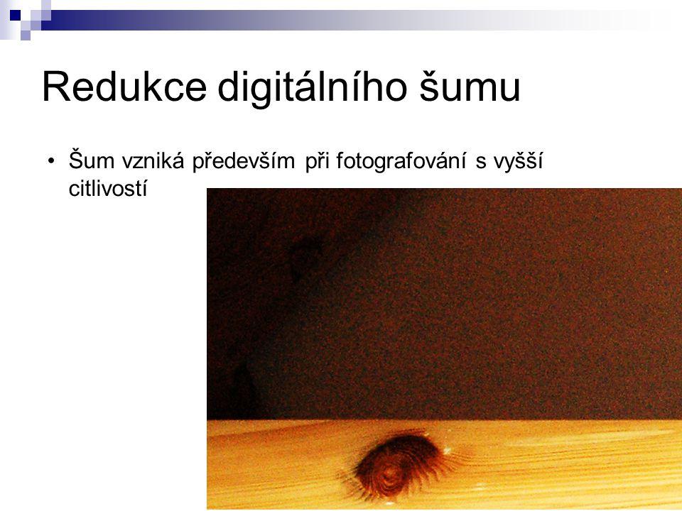 Redukce digitálního šumu