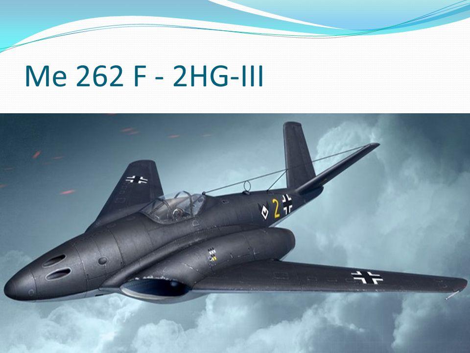 Me 262 F - 2HG-III