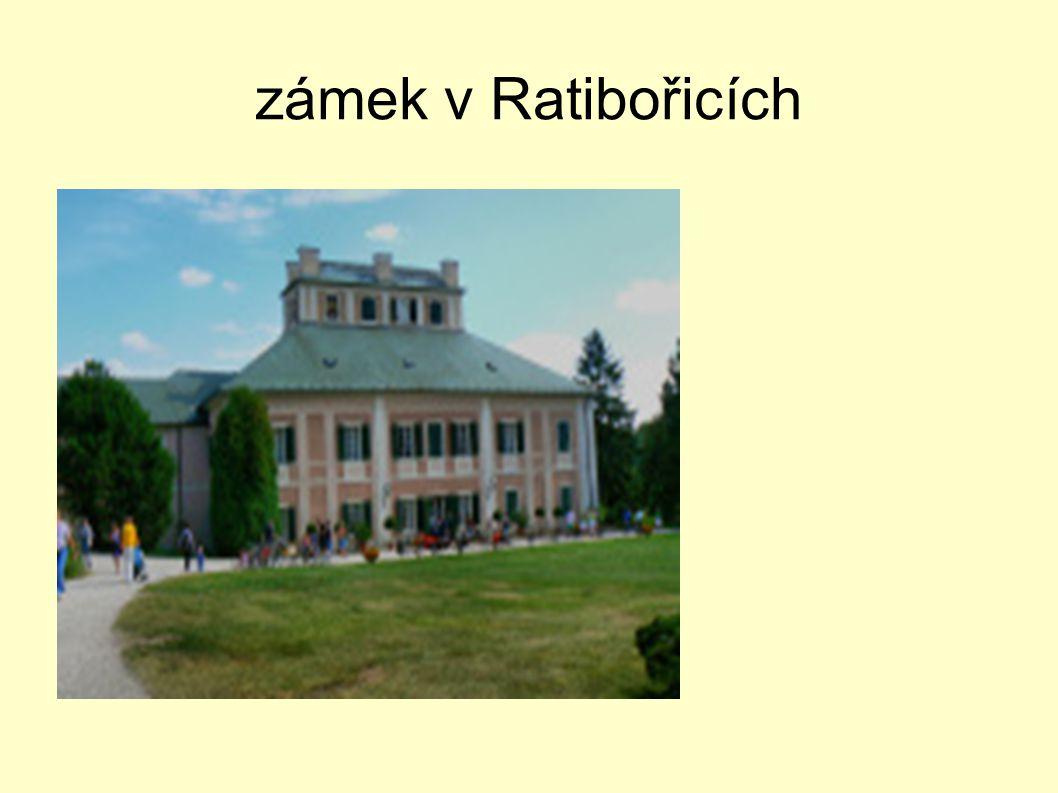 zámek v Ratibořicích