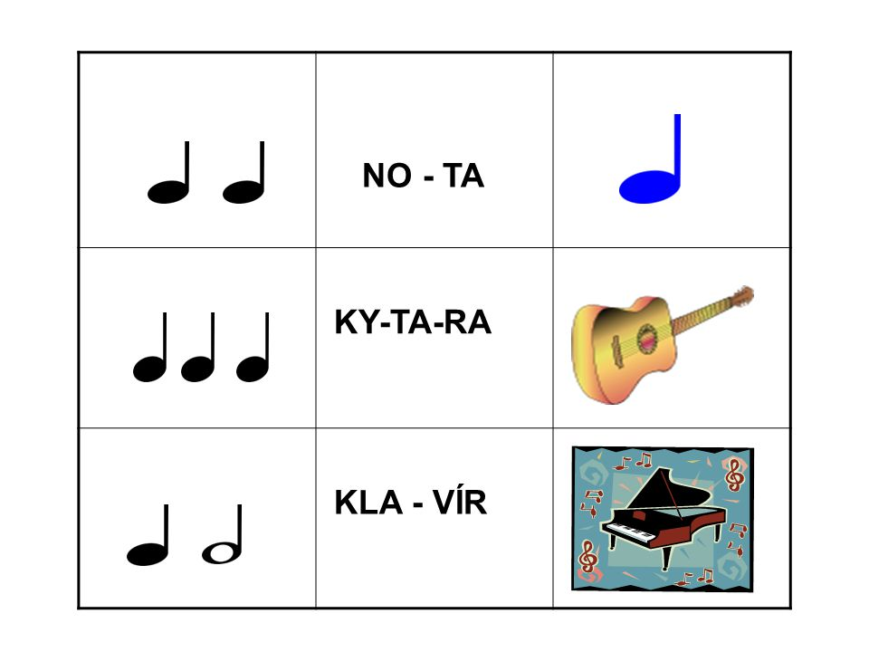 NO - TA KY-TA-RA KLA - VÍR