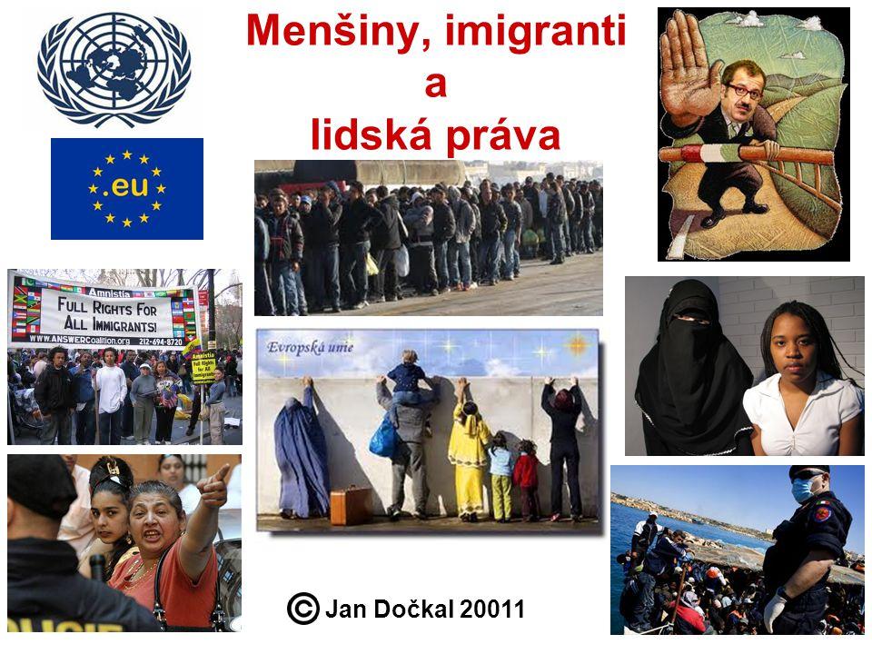 Menšiny, imigranti a lidská práva