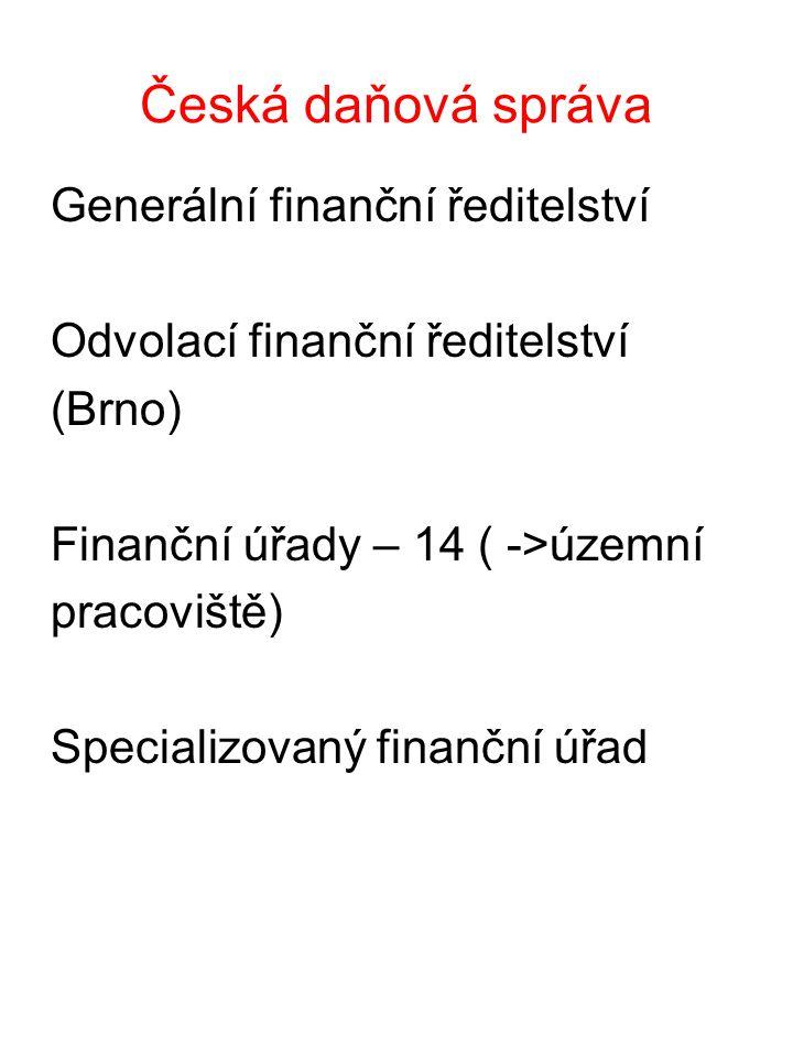 Česká daňová správa Generální finanční ředitelství