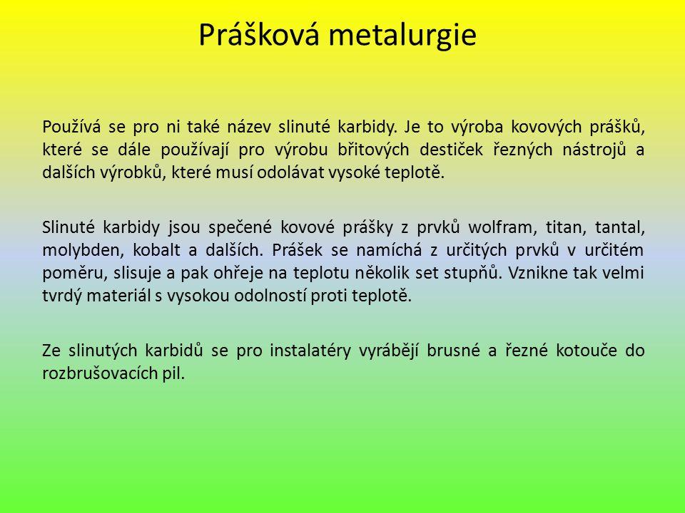 Prášková metalurgie