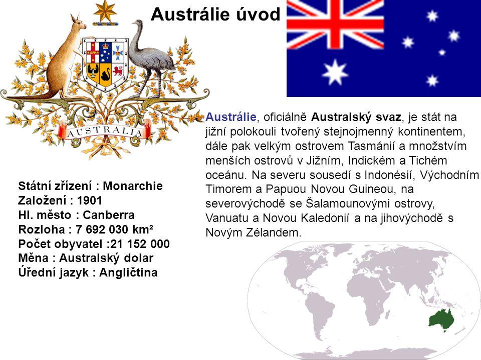 Austrálie úvod