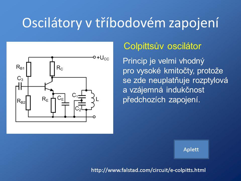 Oscilátory v tříbodovém zapojení