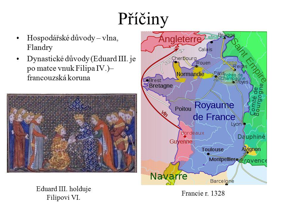 Eduard III. holduje Filipovi VI.