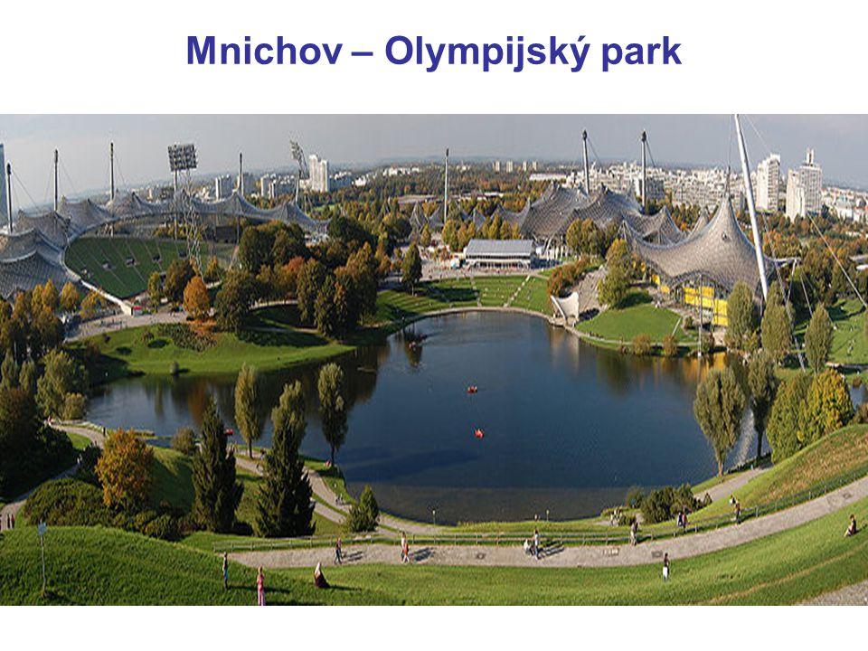 Mnichov – Olympijský park
