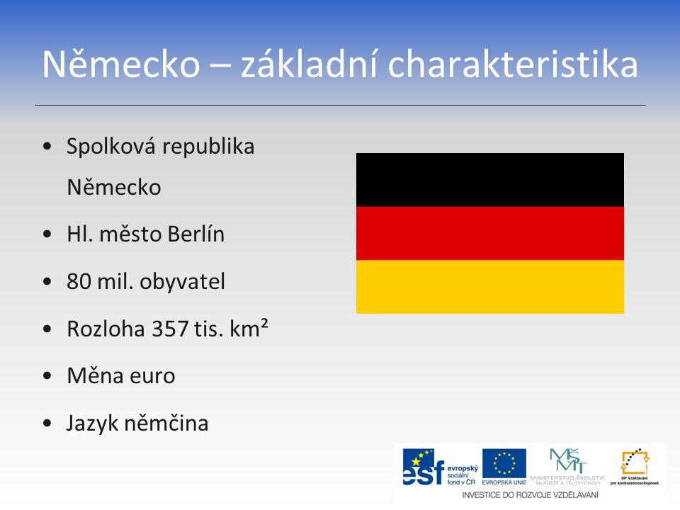 Německo – základní charakteristika