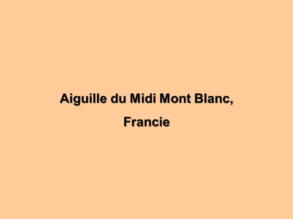Aiguille du Midi Mont Blanc,