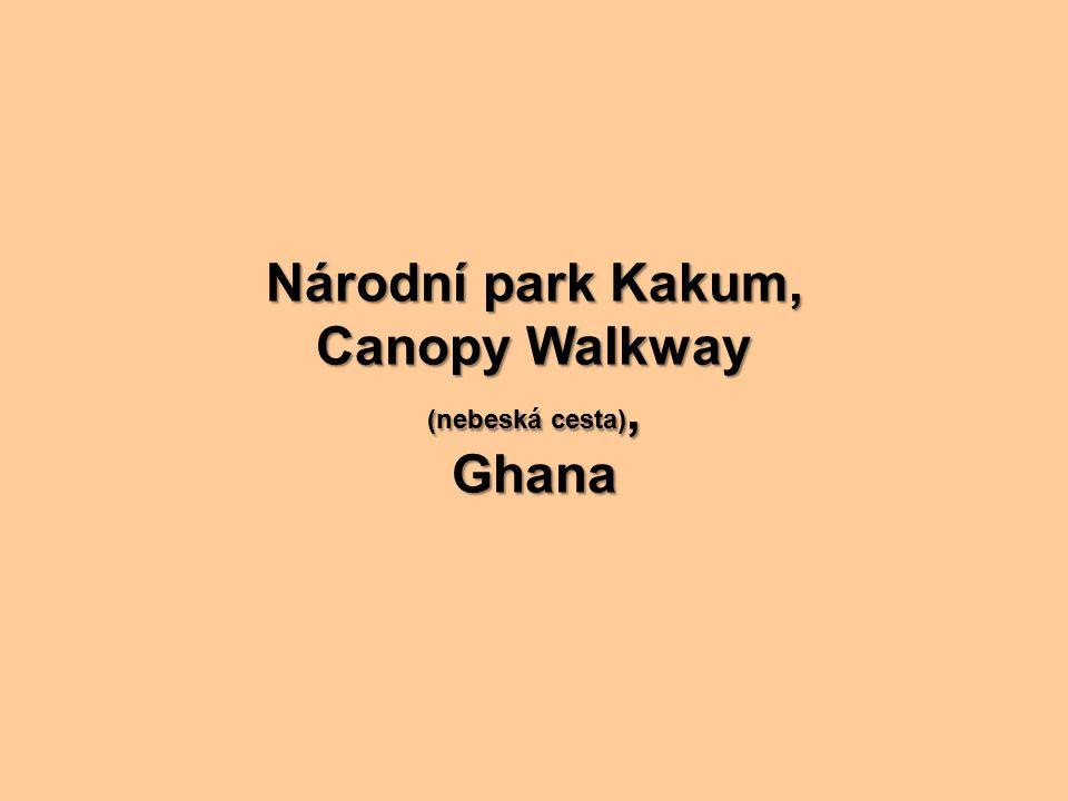 Národní park Kakum, Canopy Walkway