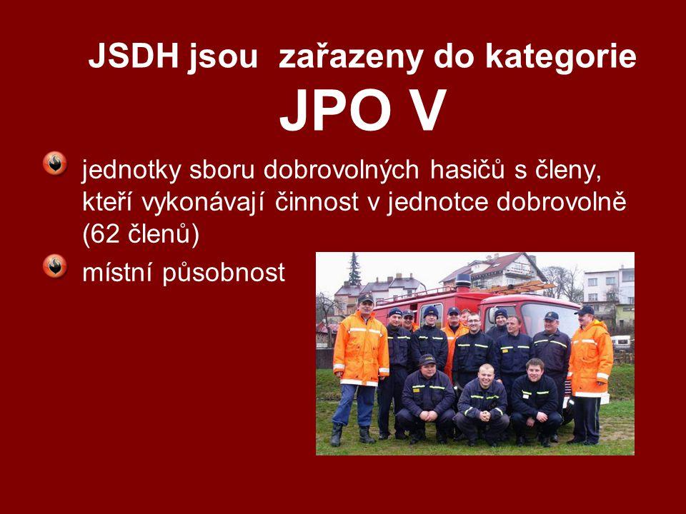 JSDH jsou zařazeny do kategorie