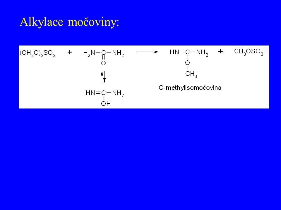 Alkylace močoviny:
