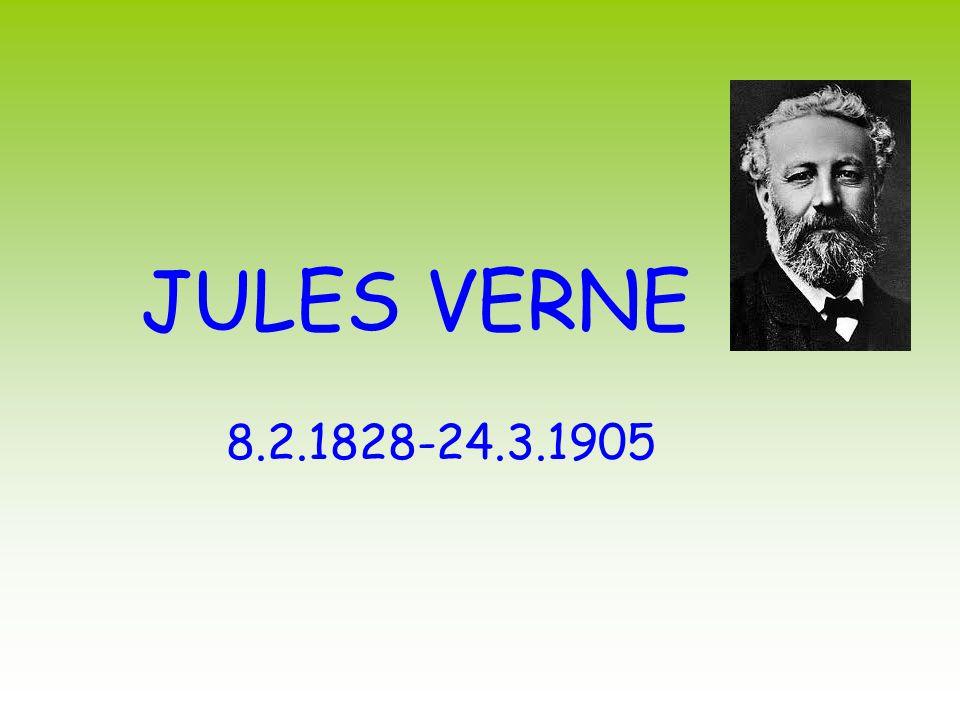 JULES VERNE 8.2.1828-24.3.1905