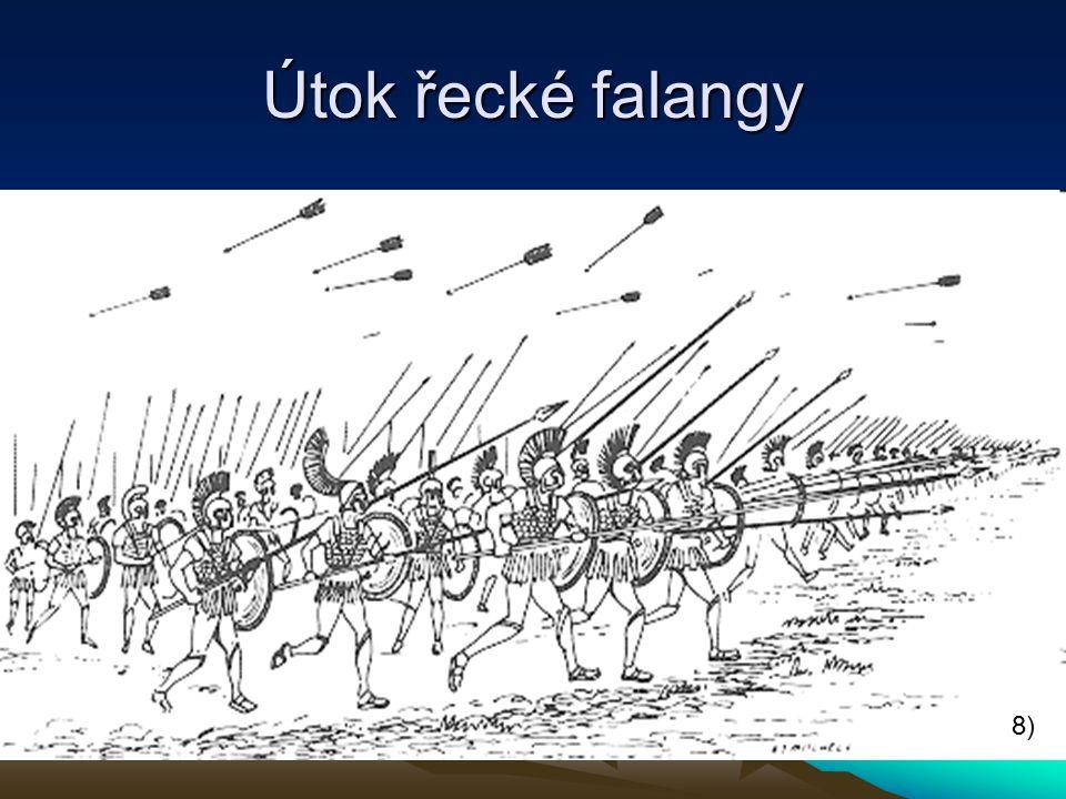 Útok řecké falangy 8)