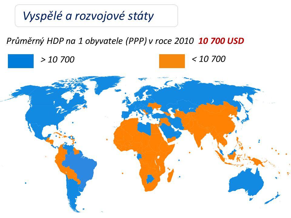 Vyspělé a rozvojové státy