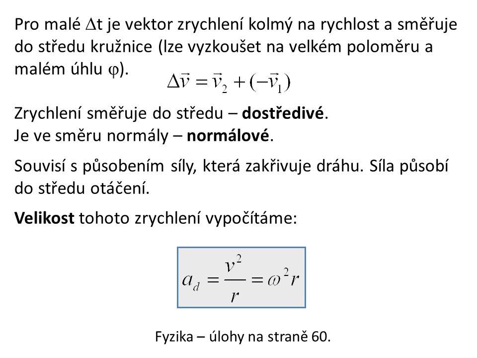 Fyzika – úlohy na straně 60.