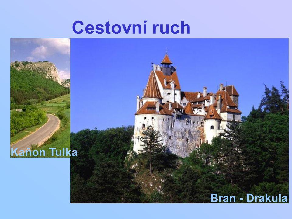 Cestovní ruch Kaňon Tulka Bran - Drakula