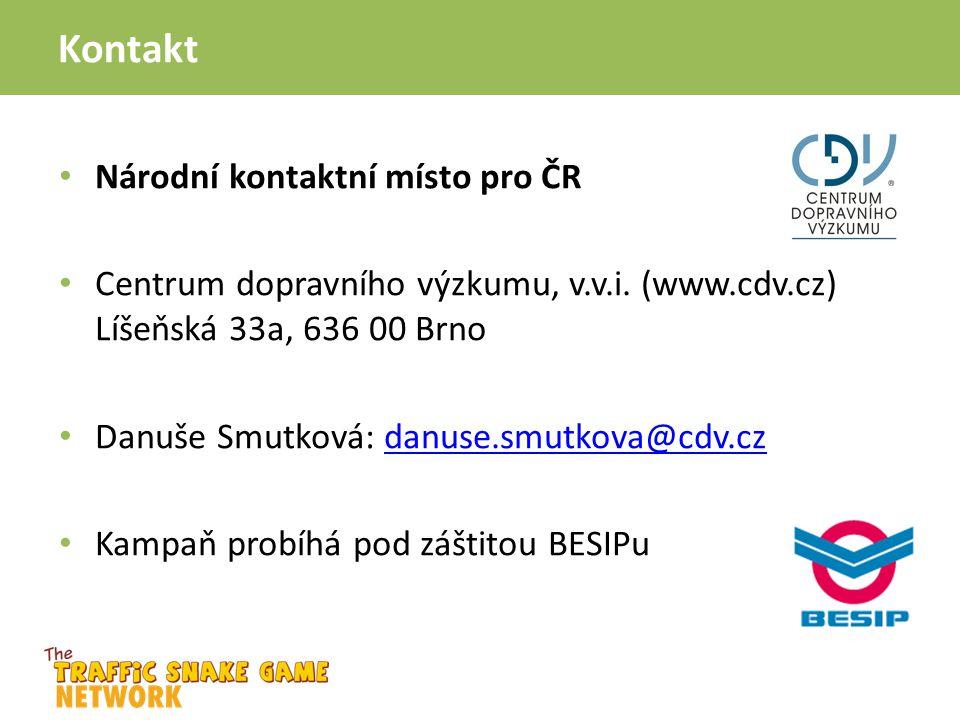 Kontakt Národní kontaktní místo pro ČR