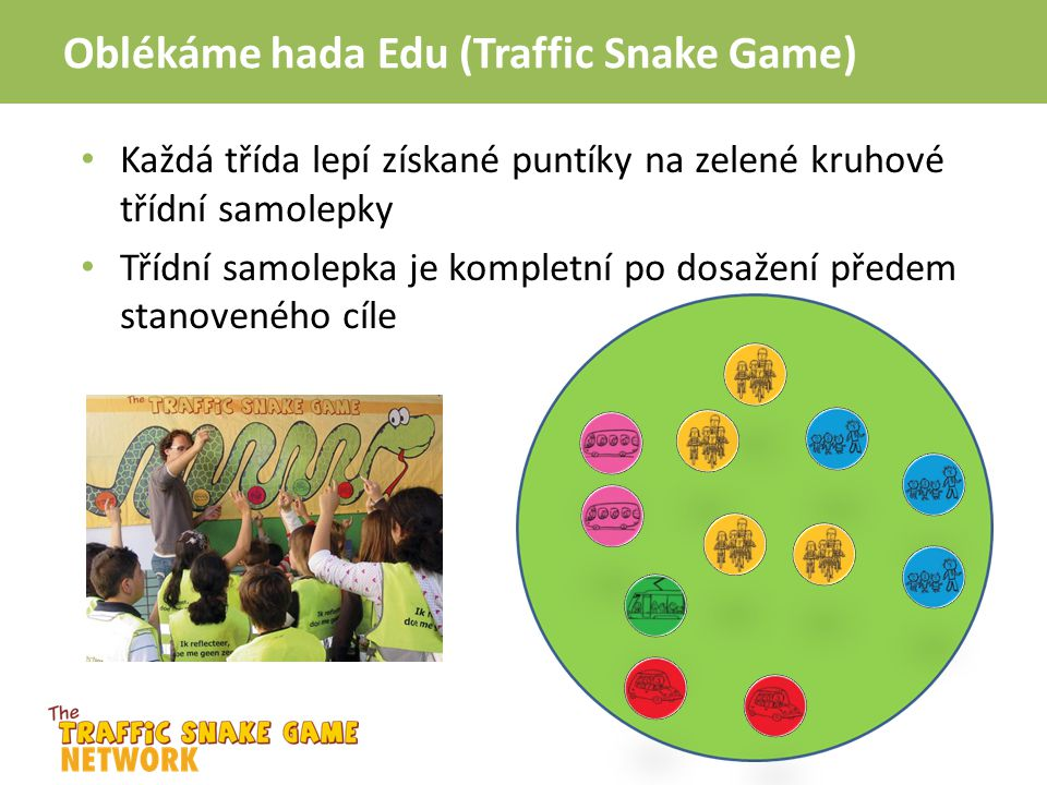 Oblékáme hada Edu (Traffic Snake Game)