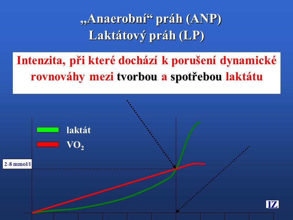 ,,Anaerobní práh (ANP) Laktátový práh (LP)