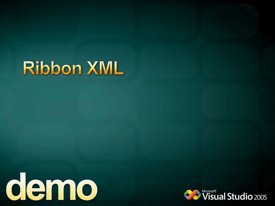 demo Ribbon XML 4/13/2017 9:38 AM WordAddinRibbon