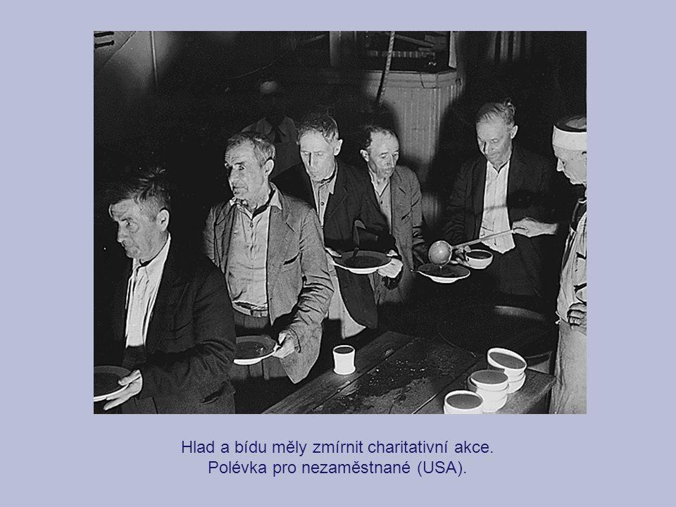 Hlad a bídu měly zmírnit charitativní akce.