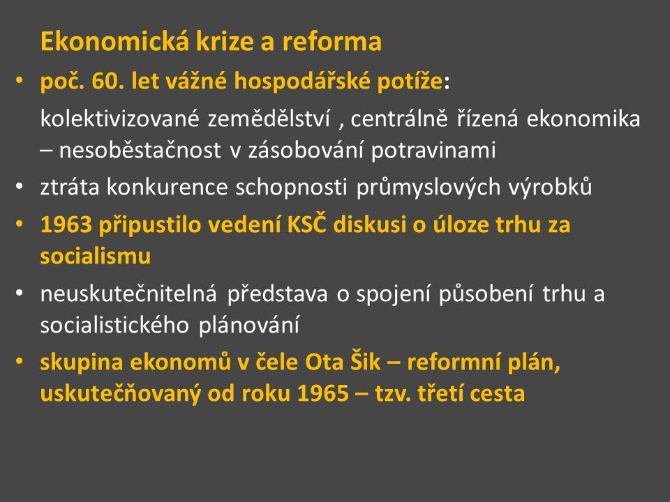 Ekonomická krize a reforma