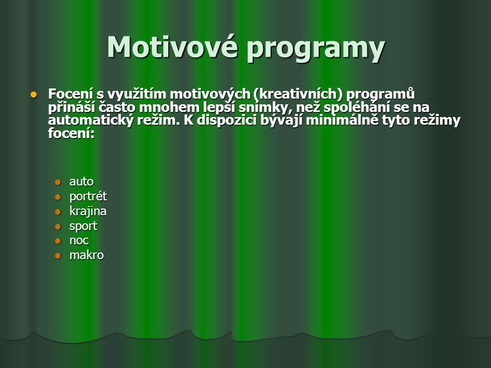 Motivové programy