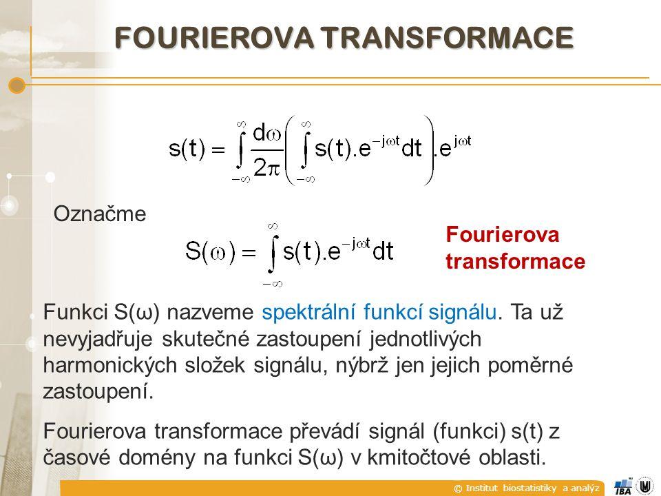 FOURIEROVA TRANSFORMACE