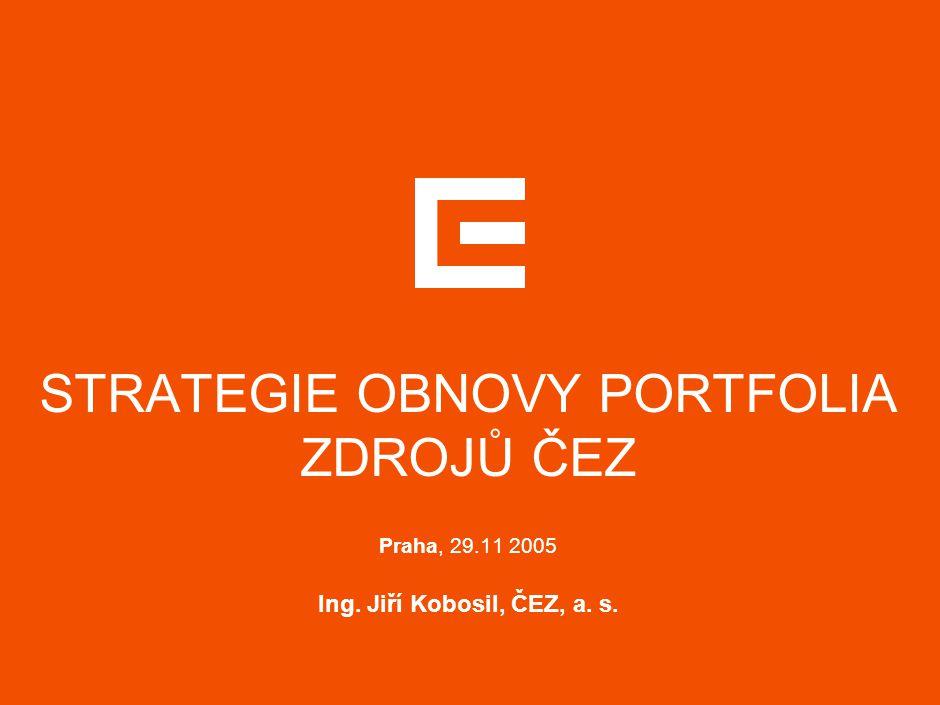ENERGETICKÁ POLITIKA ČESKÉ REPUBLIKY
