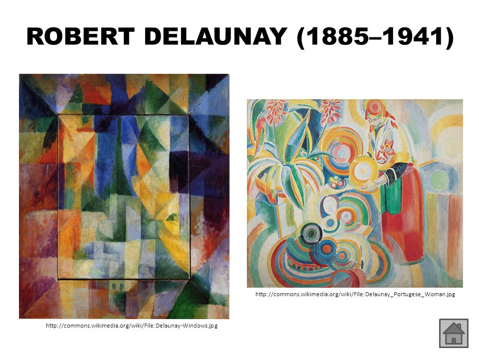 ROBERT DELAUNAY (1885–1941) http://commons.wikimedia.org/wiki/File:Delaunay_Portugese_Woman.jpg.