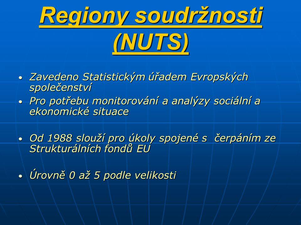 Regiony soudržnosti (NUTS)
