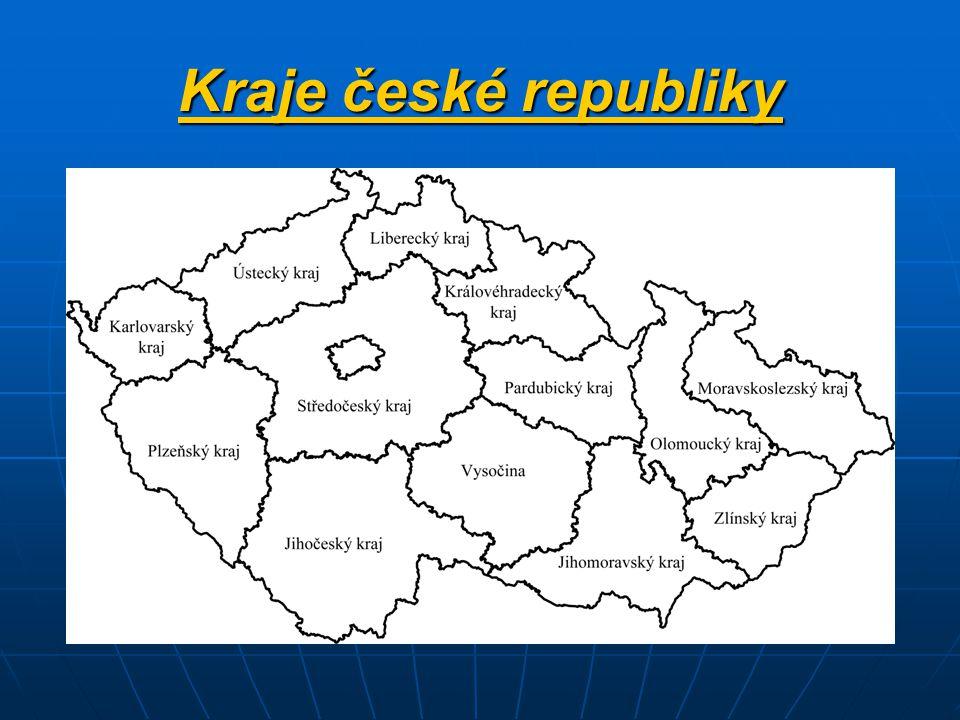 Kraje české republiky