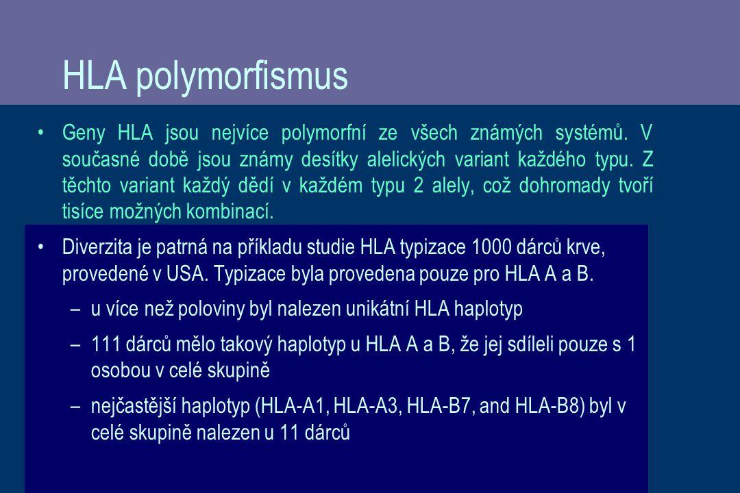 HLA polymorfismus