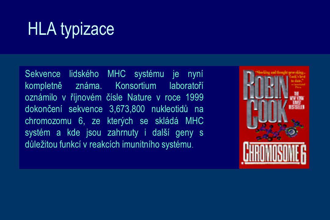 HLA typizace