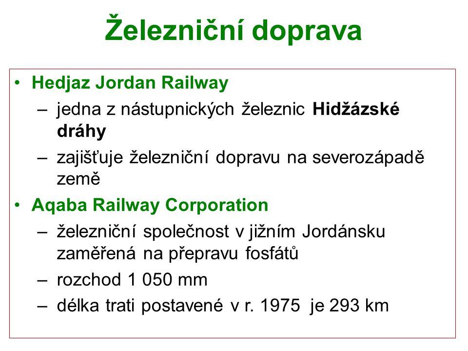 Železniční doprava Hedjaz Jordan Railway