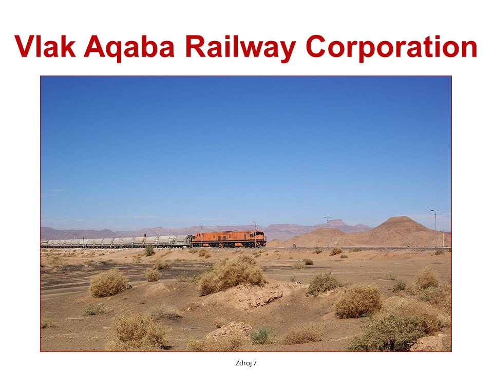 Vlak Aqaba Railway Corporation