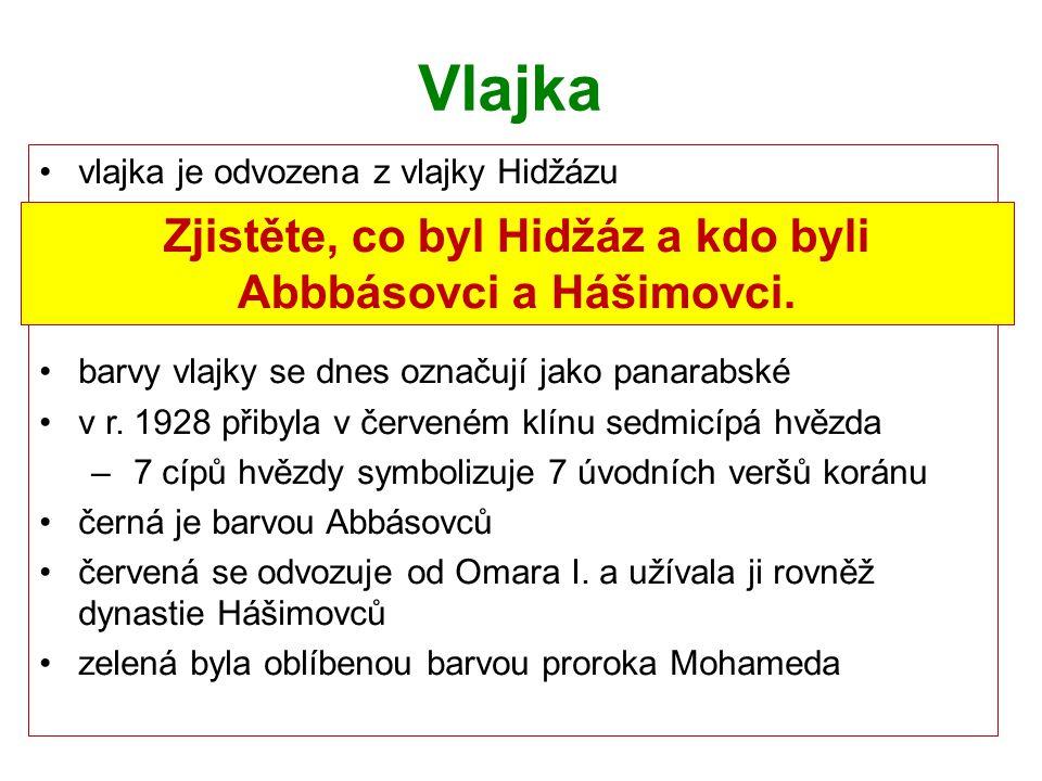 Zjistěte, co byl Hidžáz a kdo byli Abbbásovci a Hášimovci.