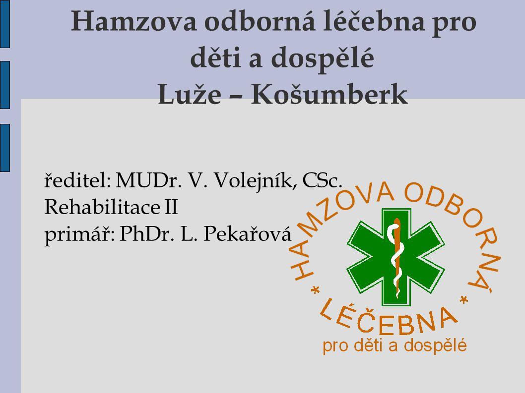 Hamzova odborná léčebna pro děti a dospělé Luže – Košumberk