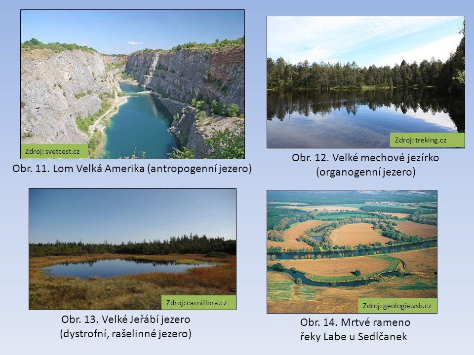 Obr. 12. Velké mechové jezírko (organogenní jezero)