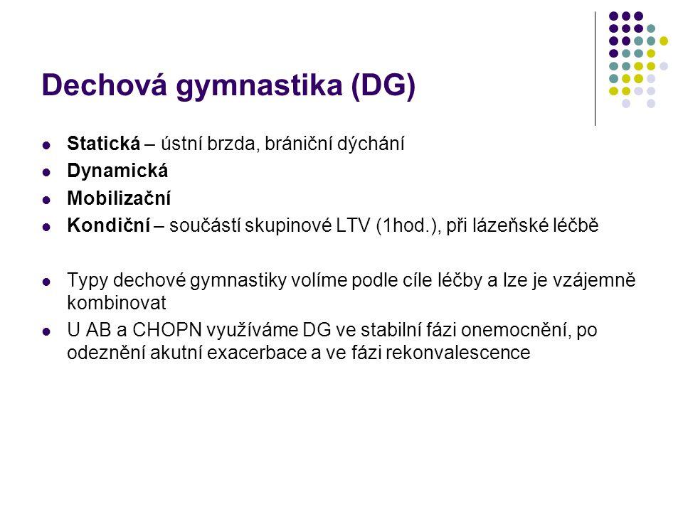 Dechová gymnastika (DG)