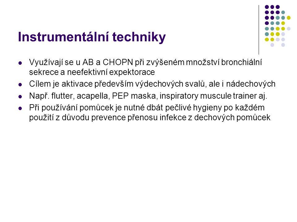 Instrumentální techniky