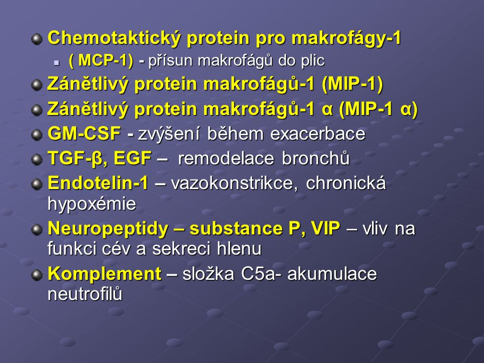 Chemotaktický protein pro makrofágy-1