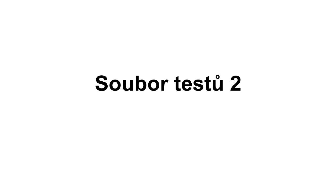 Soubor testů 2