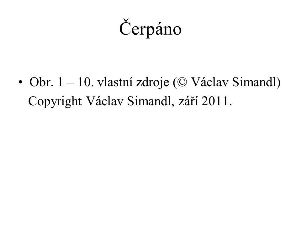 Čerpáno Obr. 1 – 10. vlastní zdroje (© Václav Simandl)