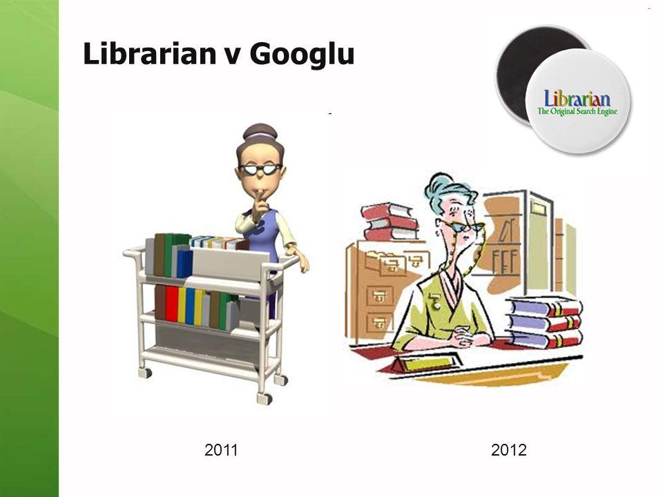 Librarian v Googlu 2011 2012