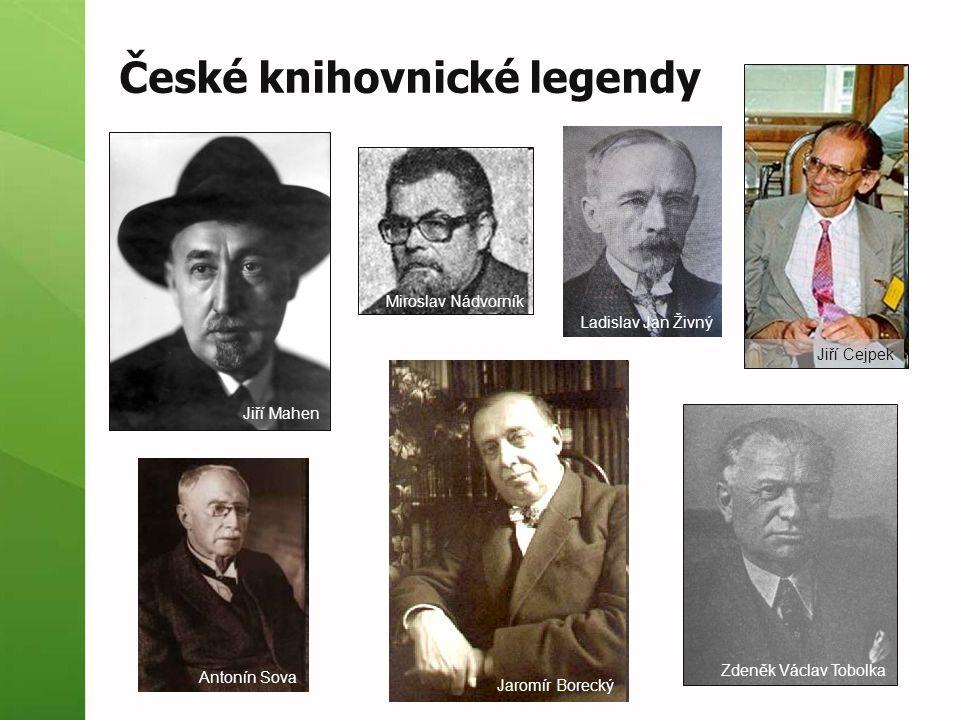 České knihovnické legendy
