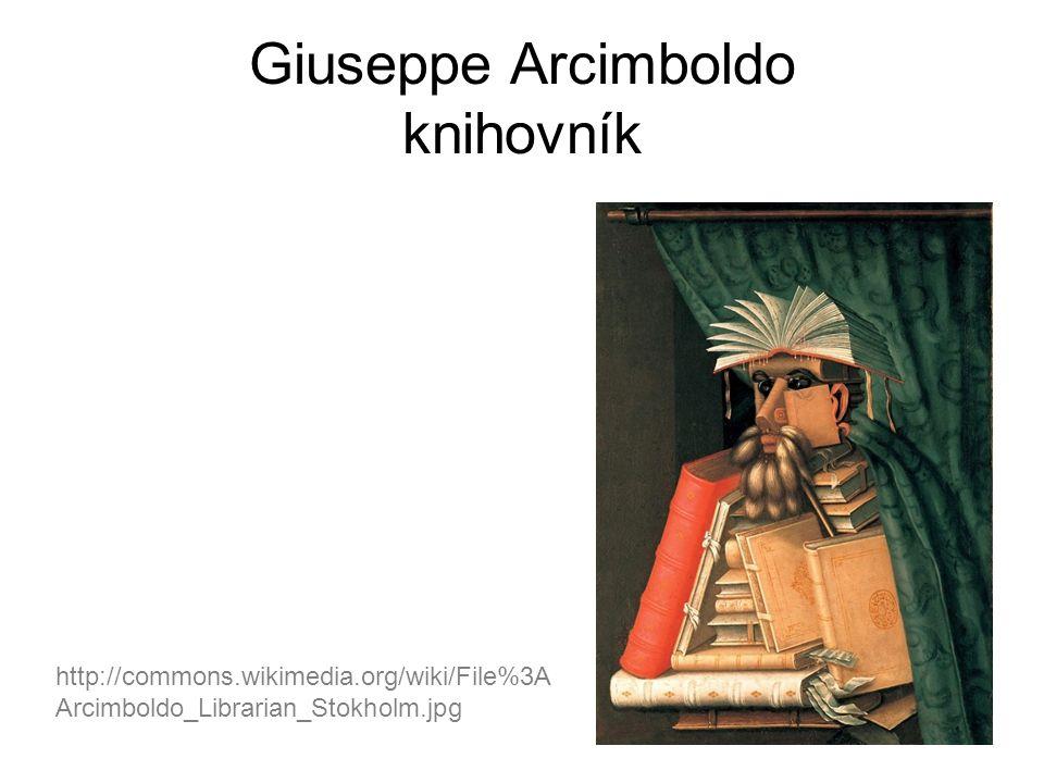 Giuseppe Arcimboldo knihovník